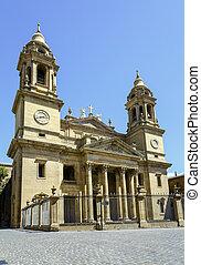 Pamplona cathedral, Santa Maria La real, Spain - Pamplona...