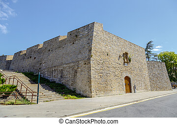 Bastion of Labrit in Pamplona Spain - Bastion of Labrit in...
