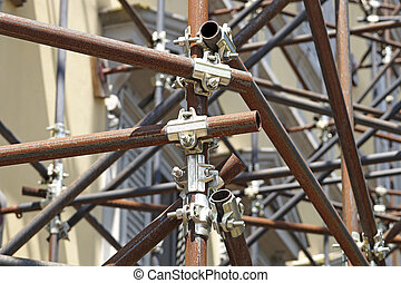 clamp scaffolding