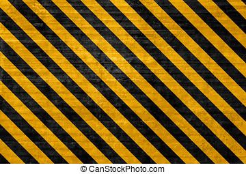 Textured hazard background