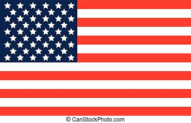 USA flag. United States America. - USA flag. United States...