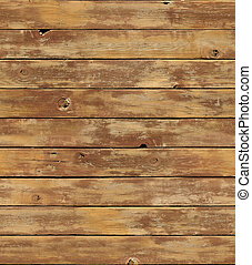 Distressed wooden surface seamlessly tileable - A distressed...
