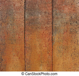 worn dirty orange red brown colored concrete...