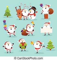 Cute Santa Set