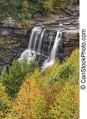 Fall at Blackwater Falls - Autumn comes to Blackwater Falls...