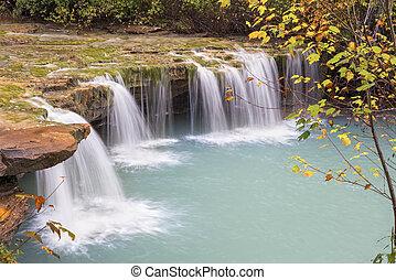 Albert Falls West Virginia - Albert Falls, a waterfall on...