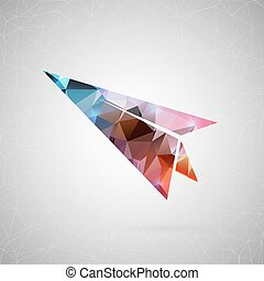 Abstract creative concept vector. For web and mobile content...