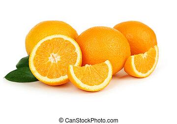 Fresh orange fruit