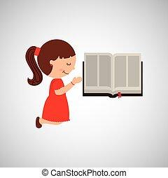 2UTE, 女孩, 聖經, 圖表, 有福