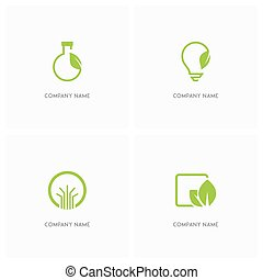 Ecology and nature logo - Ecology and nature vector logo....