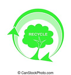 6220-logo recycle ,tree icons...