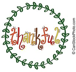 Thankful Lettering