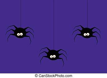 dia das bruxas, aranhas
