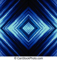 blue background - Vector illustration blue glowing...