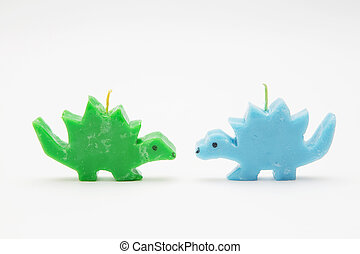 Funny Souvenir gift candles in the shape of multicolored...