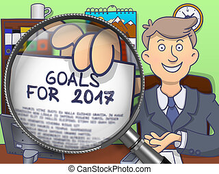 Goals for 2017 through Lens. Doodle Design. - Goals for 2017...