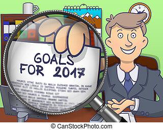Goals for 2017 through Lens. Doodle Design. - Goals for 2017...