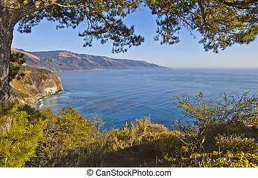 Big Sur Coastline in California, United States of America