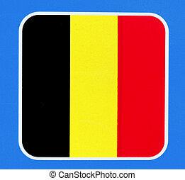 Belgische Flagge, Europa