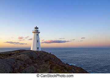 Lighthouse - The Cape Spear lighthouse