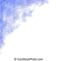 Violet watercolor abstract background