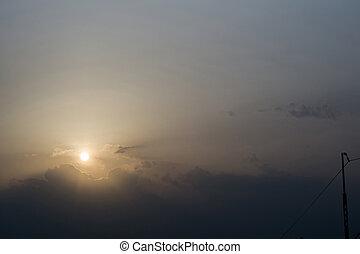 Morning Rising Sun