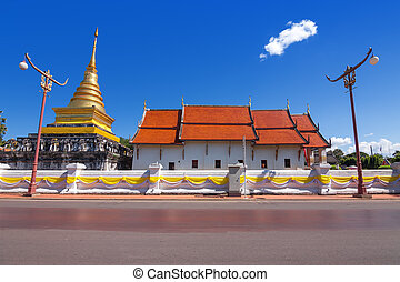 Thailand Temple in Nan Province