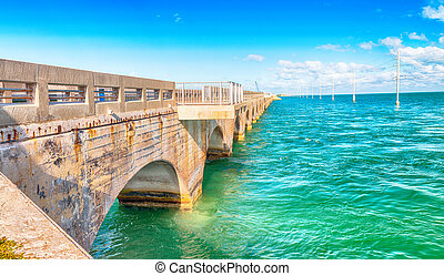 Bridge of Keys Islands, Florida