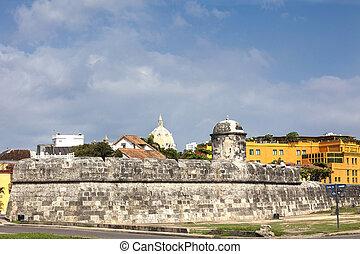 Santiago Bulwark - Bulwark of Santiago in Cartagena de...