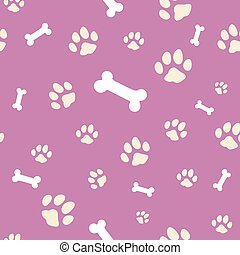 pink bone and paw texture.eps
