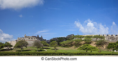 San Felipe Castle - Panorama of San Felipe Castle in...