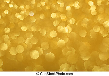 Gold bokeh background - Abstract gold bokeh background of...
