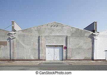 Hafenschuppen, Bremerhaven, Deutschland, Europa