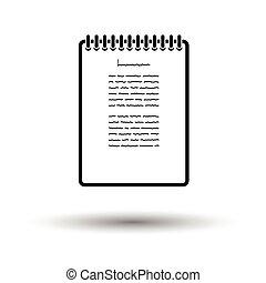 Binder notebook icon