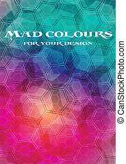Bright background - Abstract geometrical background - eps 10