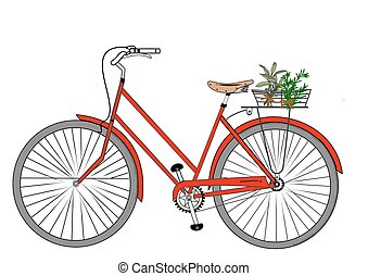 My Little Red Bicycle