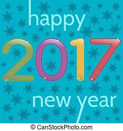 HappyNewYear-35 - 2017 Happy New Year greeting card....