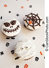 Halloween spooky muffin cupcakes - Home made Halloween...