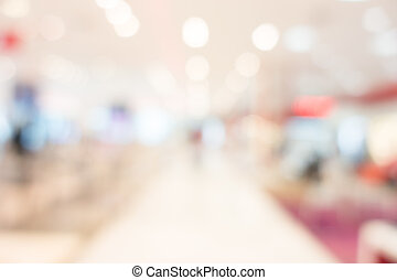 Abstract blur shopping mall - Abstract bokeh and blur...