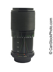 old telephoto lens
