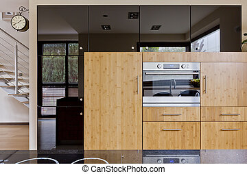 Beautiful kitchen in modern style - New style kitchen with...