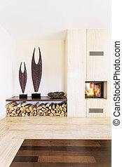 Living room full of modernity - Spacious, bright area of...