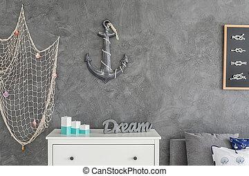 Ocean inspired interior - Modern ocean inspired interior...