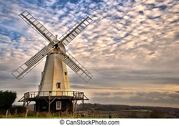 Mill - Kentish Smock Mill