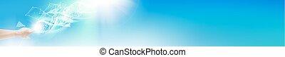 The Horizontal banner. - Horizontal banner for website...