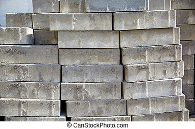 batch of bricks - brickwork, construction and building...