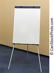 Paperboard for presentations, meetings, conferences