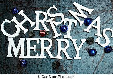 merry christmas text - Christmas background celebration...