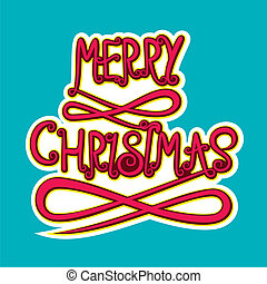 merry christmas poster design - abstract merry christmas...
