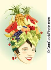 水果, 帽子